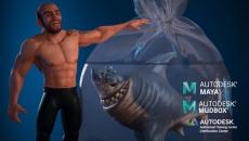 Criação de Personagem 3D - Maya e Mudbox